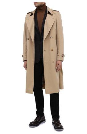 Мужской шерстяной пиджак DOLCE & GABBANA темно-серого цвета, арт. G20W9T/FU79T   Фото 2