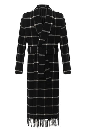 Мужской шерстяное пальто DOLCE & GABBANA темно-серого цвета, арт. G021RT/HHM8U | Фото 1