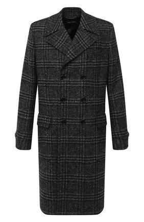 Мужской пальто DOLCE & GABBANA темно-серого цвета, арт. G020YT/FQMIH | Фото 1