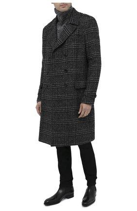 Мужской пальто DOLCE & GABBANA темно-серого цвета, арт. G020YT/FQMIH | Фото 2