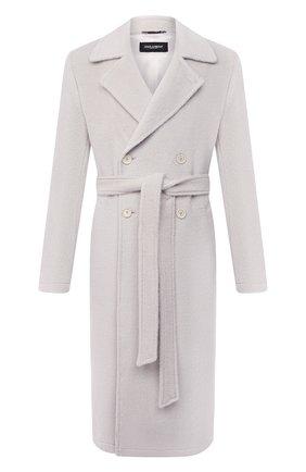 Мужской шерстяное пальто DOLCE & GABBANA белого цвета, арт. G015UT/FU3IK | Фото 1
