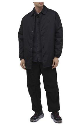 Мужские текстильные кроссовки ispa overreact flyknit NIKELAB черного цвета, арт. CD9664-002 | Фото 2
