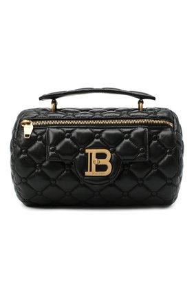 Женская сумка BALMAIN черного цвета, арт. UN1S549/LNPW | Фото 1