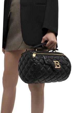 Женская сумка BALMAIN черного цвета, арт. UN1S549/LNPW | Фото 2