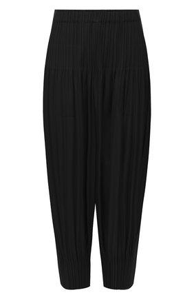 Женские брюки ISSEY MIYAKE черного цвета, арт. PP08-JF402 | Фото 1