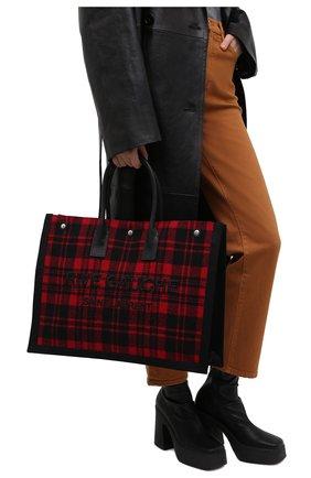 Женский сумка noe SAINT LAURENT красного цвета, арт. 499290/GKPGE | Фото 2