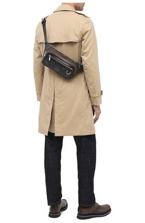 Мужская поясная сумка BERLUTI черного цвета, арт. M207350 | Фото 2