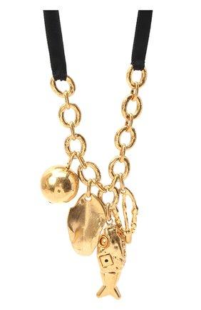 Женское колье MARNI золотого цвета, арт. C0MV0183A0/M2000 | Фото 2