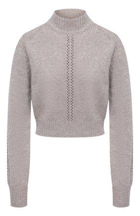 Женский кашемировый свитер LE KASHA светло-коричневого цвета, арт. MILAN00 | Фото 1