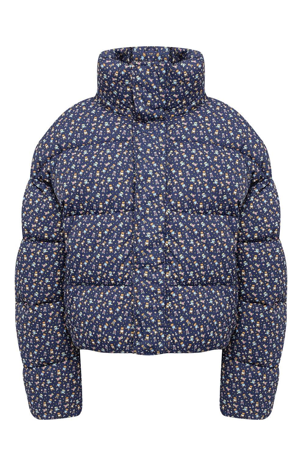 Женский утепленная куртка BALENCIAGA синего цвета, арт. 642227/TJLP5 | Фото 1