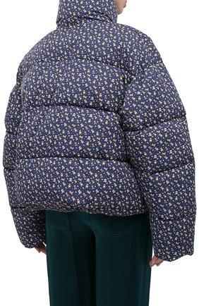 Женский утепленная куртка BALENCIAGA синего цвета, арт. 642227/TJLP5 | Фото 5