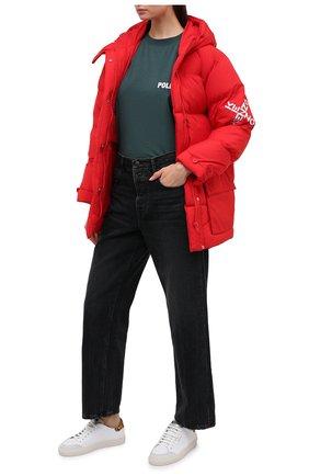 Женские кожаные кеды clean 90 triple AXEL ARIGATO белого цвета, арт. 98631 | Фото 2