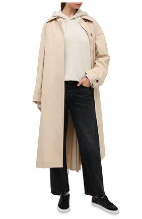 Женские кожаные кеды clean 90 triple animal AXEL ARIGATO черного цвета, арт. 98632 | Фото 2