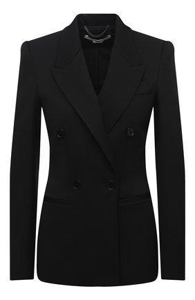 Женский шерстяной жакет STELLA MCCARTNEY черного цвета, арт. 601903/SPA03 | Фото 1