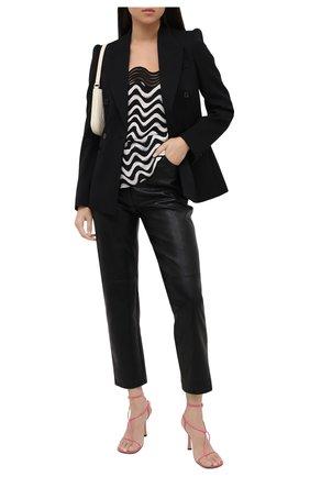 Женский шерстяной жакет STELLA MCCARTNEY черного цвета, арт. 601903/SPA03 | Фото 2