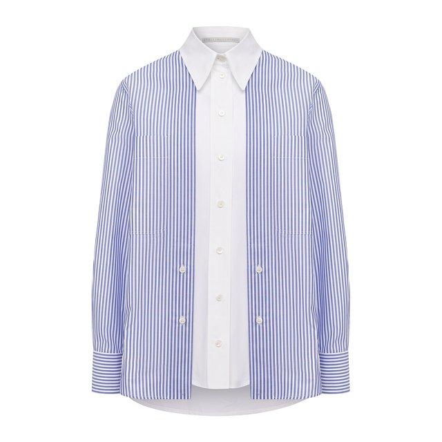 Хлопковая рубашка Stella McCartney