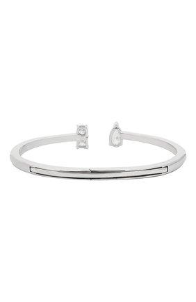Женский браслет attract SWAROVSKI серебряного цвета, арт. 5572667 | Фото 2