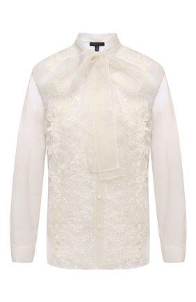 Женская шелковая блузка ESCADA светло-бежевого цвета, арт. 5033659 | Фото 1