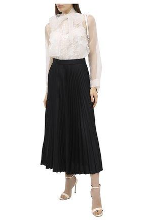 Женская шелковая блузка ESCADA светло-бежевого цвета, арт. 5033659 | Фото 2