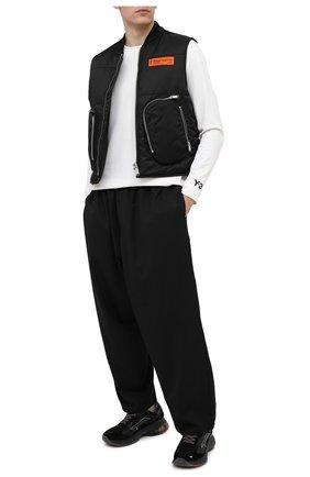 Мужской брюки Y-3 черного цвета, арт. GK4586/M | Фото 2