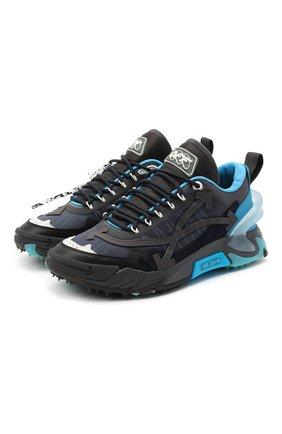 Мужские кроссовки odsy-2000 OFF-WHITE синего цвета, арт. 0MIA190F20FAB0014510 | Фото 1