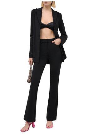 Женские брюки ALEXANDER WANG черного цвета, арт. 1WC2204301   Фото 2