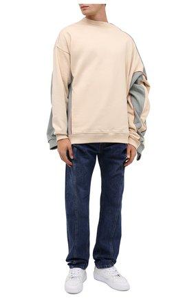 Мужские джинсы Y/PROJECT темно-синего цвета, арт. JEAN26-S19 D03 | Фото 2