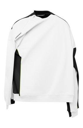 Мужской хлопковый свитшот Y/PROJECT белого цвета, арт. SWEAT25-S19 J17 | Фото 1