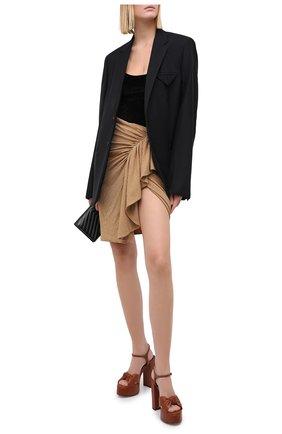 Женское боди ALEXANDRE VAUTHIER черного цвета, арт. 203BY1150 1306-203   Фото 2