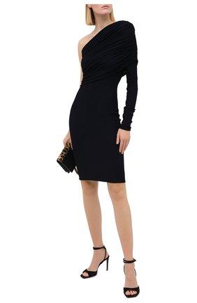 Женское платье ALEXANDRE VAUTHIER синего цвета, арт. 203DR1314 1253-202 | Фото 2