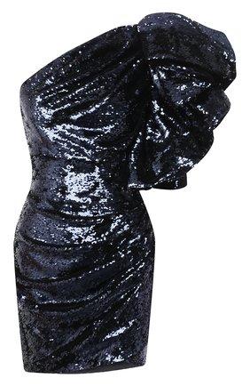 Женское платье с пайетками ALEXANDRE VAUTHIER синего цвета, арт. 203DR1335 1277-202 | Фото 1