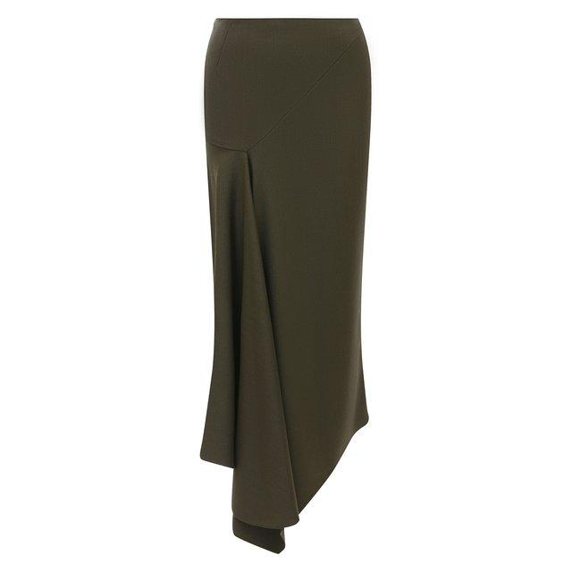Шерстяная юбка Alexandre Vauthier