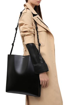 Женская сумка JIL SANDER черного цвета, арт. JSPR853171-WRB69146N | Фото 2