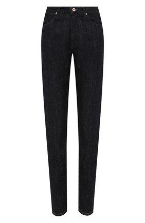 Женские джинсы JIL SANDER темно-синего цвета, арт. JPPR663101-WR246200   Фото 1