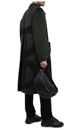 Мужская кожаная поясная сумка VIC MATIE черного цвета, арт. 1Y0526T.999N310101 | Фото 2
