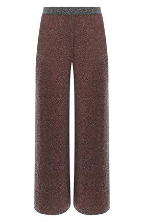 Женские шерстяные брюки TAK.ORI разноцветного цвета, арт. PTK70028WV083AW20 | Фото 1 (Длина (брюки, джинсы): Стандартные; Материал внешний: Шерсть; Женское Кросс-КТ: Брюки-одежда; Силуэт Ж (брюки и джинсы): Широкие; Стили: Кэжуэл)