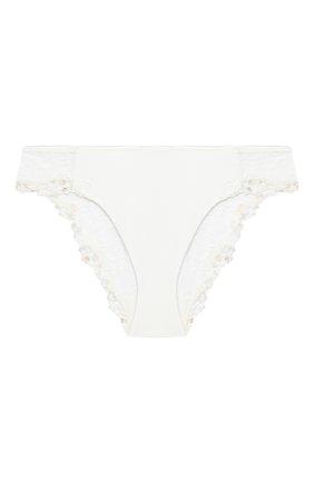 Женские трусы-слипы LA PERLA белого цвета, арт. 0040510 | Фото 1