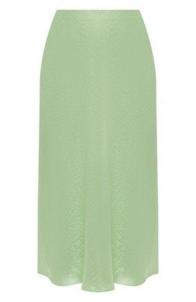 Женская юбка VINCE зеленого цвета, арт. V652930354 | Фото 1