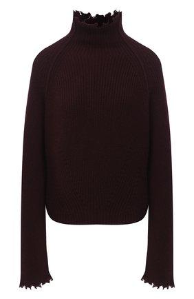 Женский кашемировый свитер ISABEL BENENATO бордового цвета, арт. DK73F20   Фото 1