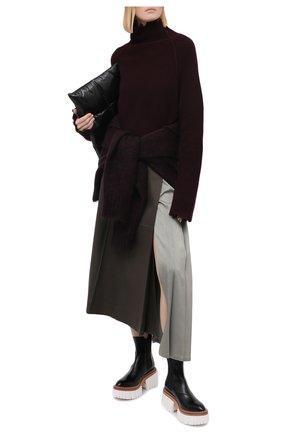 Женский кашемировый свитер ISABEL BENENATO бордового цвета, арт. DK73F20   Фото 2