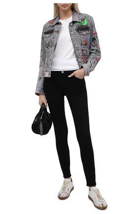 Женские джинсы J BRAND черного цвета, арт. JB002962   Фото 2