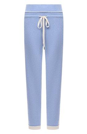 Женские кашемировые брюки MAX&MOI голубого цвета, арт. H20BASTIEN   Фото 1
