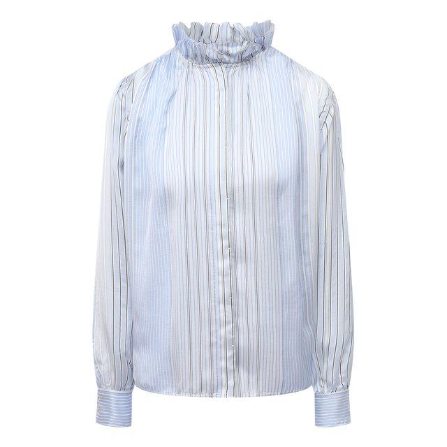 Блузка из вискозы и шелка Forte_forte