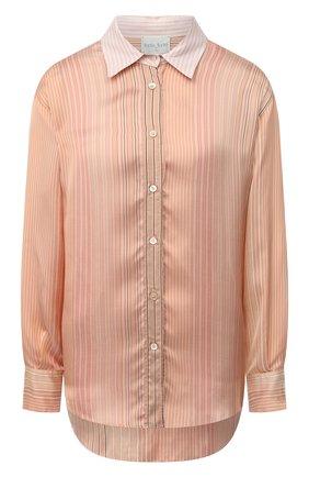 Женская рубашка из вискозы и шелка FORTE_FORTE бежевого цвета, арт. 7572BIS | Фото 1