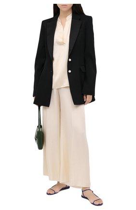 Женские брюки FORTE_FORTE бежевого цвета, арт. 7550 | Фото 2