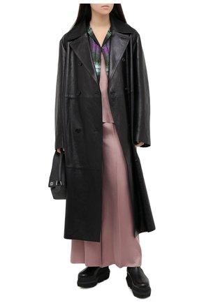 Женские брюки FORTE_FORTE сиреневого цвета, арт. 7550 | Фото 2