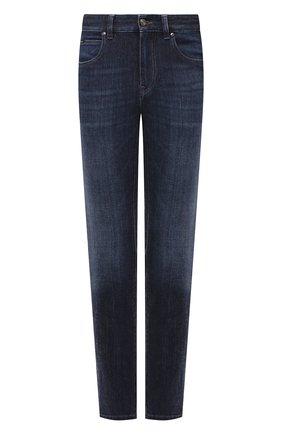 Мужские джинсы Z ZEGNA темно-синего цвета, арт. VV797/ZZ530 | Фото 1