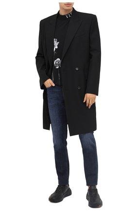 Мужские джинсы Z ZEGNA темно-синего цвета, арт. VV797/ZZ530 | Фото 2
