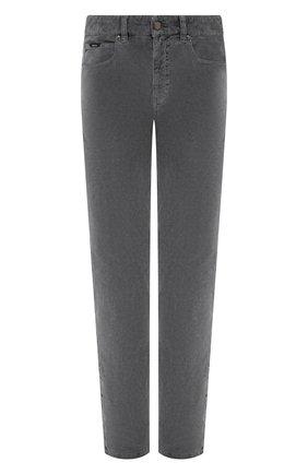 Мужской хлопковые брюки Z ZEGNA серого цвета, арт. VV763/ZZ530 | Фото 1