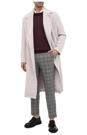 Мужские брюки DOLCE & GABBANA серого цвета, арт. GY6IET/FQRBP | Фото 2